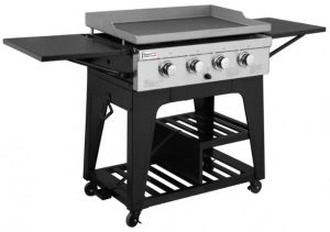 Royal Gourmet Regal GB4000 4 Burner Propane Gas Grill Griddle, 52,000BTU